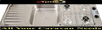 Thetford COMBINATION UNIT - 2 BURNER/SINK STAINLESS STEEL SCU64260Z