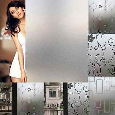 Frosted Glass Films Window Film Privacy Glass Vinyl Tint Self-Adhesive-Film