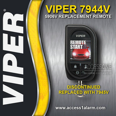 Viper 5906V Responder HD SST 2-Way OLED Color Remote Control 7944V ( NEW )