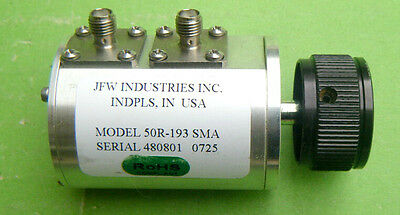 JFW 10dB/2.4GAd justable Variable Attenuator 50DR-193