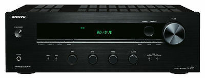 Onkyo TX-8020 Stereo Receiver Amp Amplifier NEW - Black