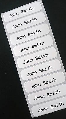 Iron on name tags for clothing - for school uniform, clothes and jackets