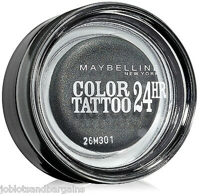 Maybelline Color Tattoo 24hr Gel Cream Eyeshadow - (55) Immortal Charcoal