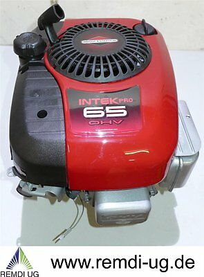 Aufsitzer Motor Briggs & Stratton 6,5 HP INTEC PRO 65 OHV Welle 25,4/80 E-Start