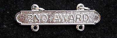 Us Marnie Pistol 2Nd Award Expert Bar Re-Qualifiaction Badge Hat Pin Up Rifle Us