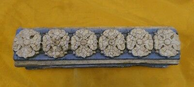 Reclaimed Antique Terra Cotta Decorative Floral piece from Crawford's Bakery #3