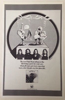 Pink Floyd MEDDLE Capital Records Promo Poster by Sheridan