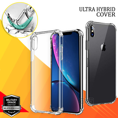 Soft Gel Clear Case Cover Apple iPhone X XS Max XR SE 5 6 6S 7 8 Plus 11 Pro Max