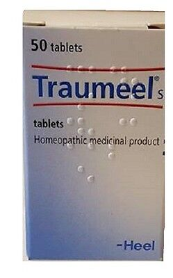 Traumeel S – 50 Tablets - Anti-Inflammatory Pain Relief Homeopathic USA SELLER!