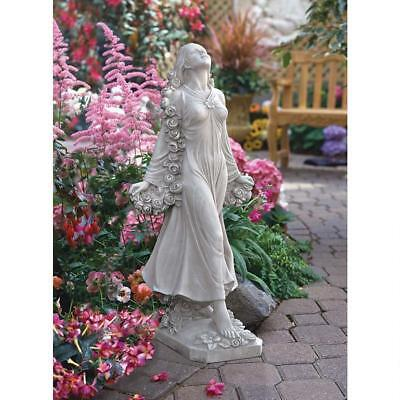 New Design Toscano 'Flora' Divine Patroness of Gardens Statue Ornament