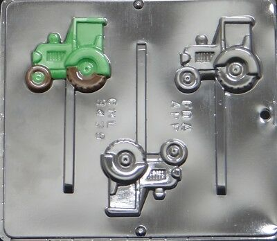 Tractor Lollipop Chocolate Candy Mold 3439 NEW
