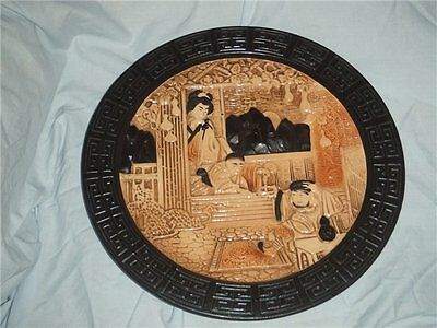 1920s Bretby Charger Oriental Theme