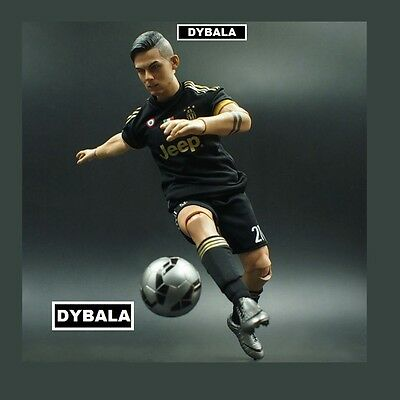 realistic doll PAULO DYBALA JUVENTUS fc BIG football action figure 1/6 scale