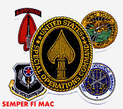 Special Operations Patch Us Socom Pin Up Army Marines Navy Air Force Coast Guard