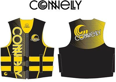 CONNELLY Youth Neo Vest Kinder Neoprenweste Schwimmweste yellow