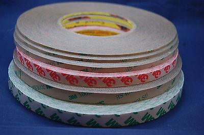 3M 300LSE EXTREMLY STRONG DOUBLE SIDED ADHESIVE TAPE, 2~12MMx55M, FOR MOBILE