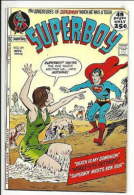 SUPERBOY # 179 (48 Pages, NOV 1971), FN+