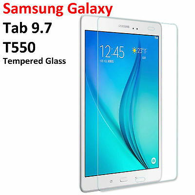 Tempered Glass Screen Protector Guard for Samsung Galaxy Tab A 9.7 T550 SM-T550