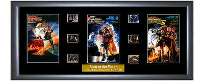 Back to the Future - Trilogy Film Cell memorabilia - Numbered Limited Edition