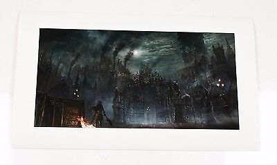 """Bloodborne. """"Cathedral Ward"""". Official Print. Hand-numbered Edition of 50"""