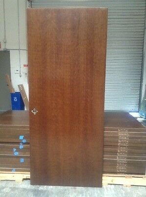 PS Cherry Solid Core Wood Doors 3-0x7-0x1-3/4 with Walnut finish lot of 14.