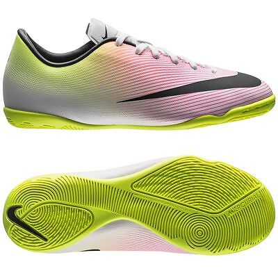 7317d322ecc9b Nike Mercurial Victory IV IC Indoor 2016 Soccer Shoes Radiant / Multi Kids  Youth