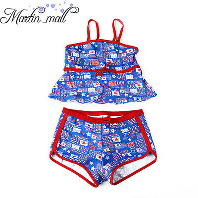 Hot Sale Lovely Girls Kids Character Swimwear Bikini Swimsuit Beachwear Summer
