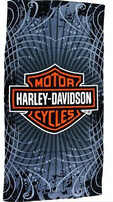 "Harley Davidson Vibe Beach Towel Fully Licensed (30""x60"")"