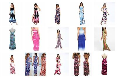 wholesale 20 Bohemian Dresses e maxi sundress beach dress vacation dress halter