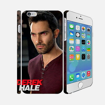 001 Teen Wolf - Apple iPhone 4 5 6 Hardshell Back Cover Case