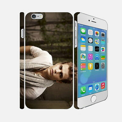 001 The Vampire Diaries - Apple iPhone 4 5 6 Hardshell Back Cover Case