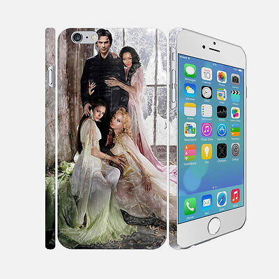 005 The Vampire Diaries - Apple iPhone 4 5 6 Hardshell Back Cover Case
