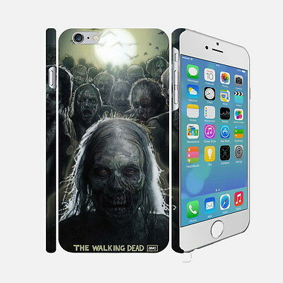 02 The Walking Dead - Apple iPhone 4 5 6 Hardshell Back Cover Case