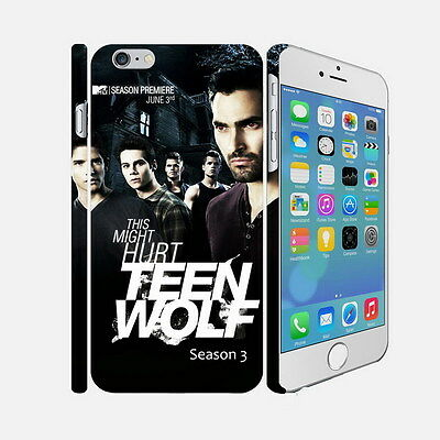 035 Teen Wolf - Apple iPhone 4 5 6 Hardshell Back Cover Case