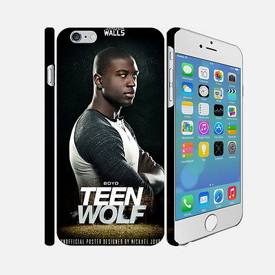 037 Teen Wolf - Apple iPhone 4 5 6 Hardshell Back Cover Case