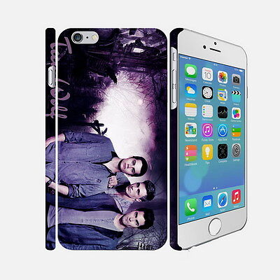 041 Teen Wolf - Apple iPhone 4 5 6 Hardshell Back Cover Case