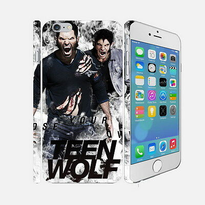 048 Teen Wolf - Apple iPhone 4 5 6 Hardshell Back Cover Case
