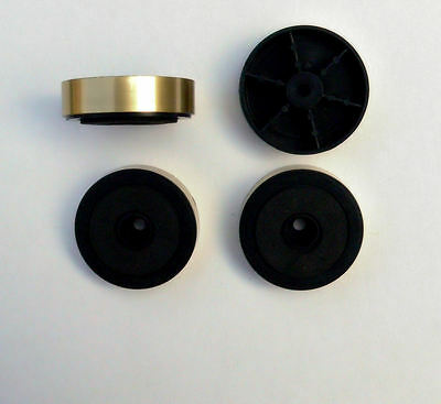 48mm Gold Feet x 4 for HiFi Amplifier Cabinet