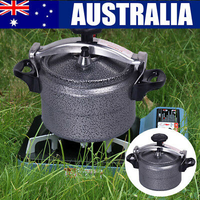 3L Portable Aluminium Pressure Rice Cooker Stovetop Cooking Pot Travel Camping