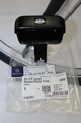 Genuine Mercedes-Benz W203 C-Class CLK Parking Brake Pull Handle A20342706207C45