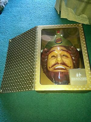 """Offical Burger King mask. """"Very Rare"""" PLZ READ DESCR...""""TEXT ME, FOR XMAS PRICE"""""""