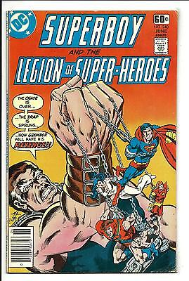 SUPERBOY and the LEGION of SUPER-HEROES # 240 (DC GIANT, JUNE 1978), VF-