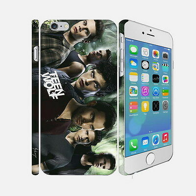 066 Teen Wolf - Apple iPhone 4 5 6 Hardshell Back Cover Case