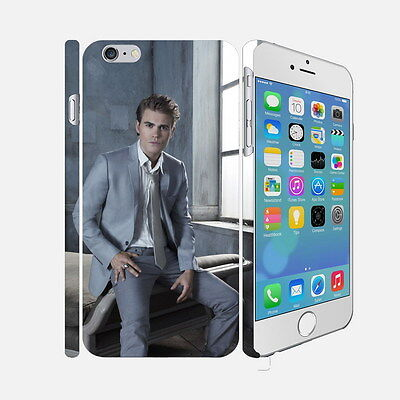 097 The Vampire Diaries - Apple iPhone 4 5 6 Hardshell Back Cover Case