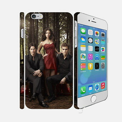 104 The Vampire Diaries - Apple iPhone 4 5 6 Hardshell Back Cover Case