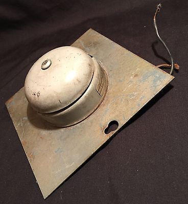 Vintage Bell Faraday Electric Fire Alarm School Train Station PRIORITY MAIL