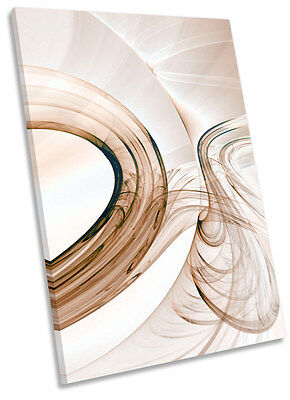 Abstract Fractal Design Framed CANVAS WALL ART Print Picture