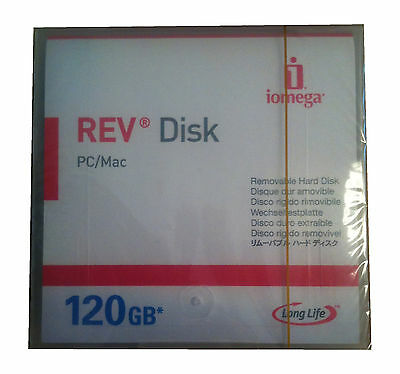 Iomega REV 120GB Disk/Storage Medium NEW #55