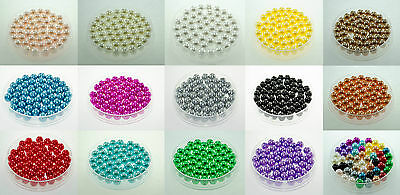 10 Perle imitation Brillant 10mm Couleur au choix Creation Bijox, Collier ...