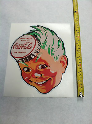 Coca Cola Pepsi Soda Decal Sprite Boy Sticker Decals Mancave 10""